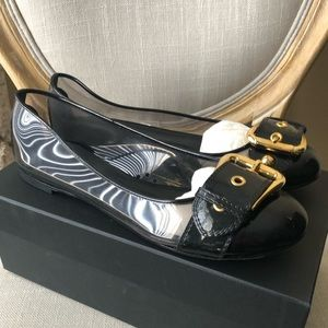 Giuseppe Zanotti PVC Transparent Ballet Flats